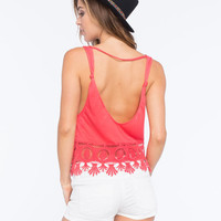 Others Follow Haven Womens Cami Red  In Sizes
