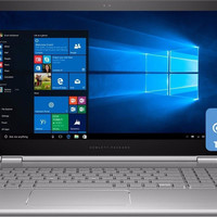 HP Envy x360 N5S77UA 15-U493CL Convertible Laptop PC - Intel Core i7-6500U 2.5 GHz Dual-Core Processor - 12 GB DDR3L SDRAM - 1 TB Hard Drive - 15.6-inch Touch Screen Display - Windows 10 Home 64-bit