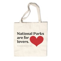 National Parks are for Lovers Canvas Tote