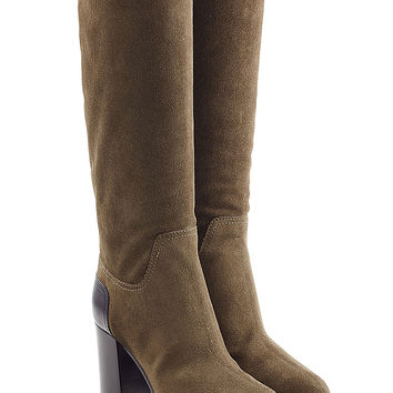 Sergio Rossi - Suede Knee Boots