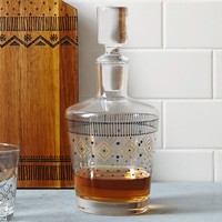 Festive Fair Isle Decanter