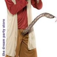 Men's Snake Charmer Adult Costume - Red - Large for Halloween
