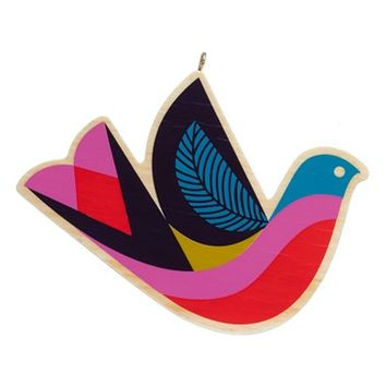 Nordstrom at Home Wooden Bird Ornament | Nordstrom