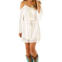 RESTOCK: Ride Through The Country Dress: Cream