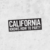 "2Pac & Dr Dre Sticker! - ""California Knows How To Party"" bumper sticker! biggie smalls, jay-z, kane west coast tupac"