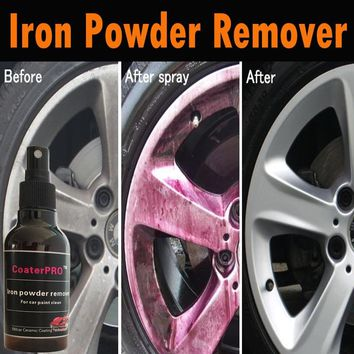 CoaterPRO by 58Xcar Auto Iron powder remover rust remover wheel rim cleaner car paint rust remover for car paint and rim 100ml