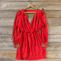 Moonstone Dress in Red