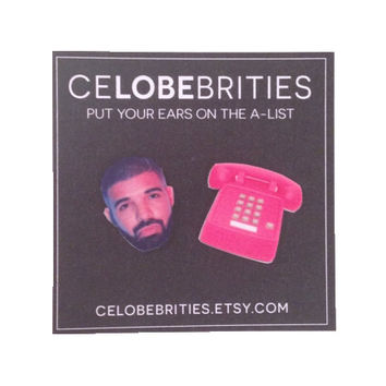 Drake Hotline Bling Earrings