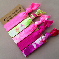The Tess Hair Tie -Ponytail Holder Collection - 5 Elastic Hair Ties by Elastic Hair Bandz on Etsy