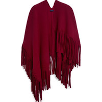 Burberry Prorsum - Wool-Blend Poncho Scarf | MR PORTER