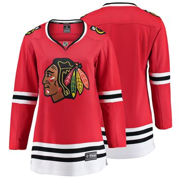 Women's Chicago Blackhawks Fanatics Branded Red Breakaway Home Jersey
