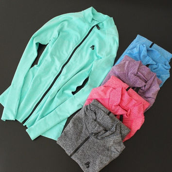 Active Zippered Sports Sweater (5 Colors)