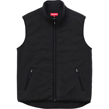 Supreme: Polartec® Fleece Vest - Black