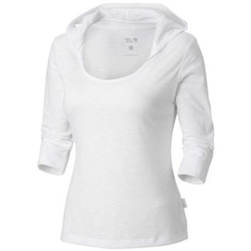 Mountain Hardwear Lochvale Hoodie Shirt - 3/4 Sleeve (For Women)