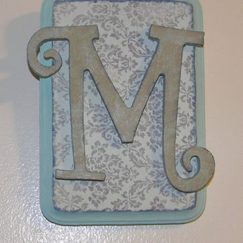Vintage Wall Letters (Initials)