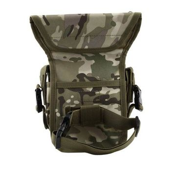 DCCK7N3 NEW Outdoor Waterproof Tactical Stylish Military Unisex Solid Utility Thigh Pouch Waist Belt Pouch Weapons Sports Drop Leg Bag