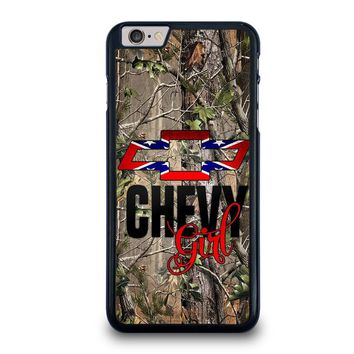 CAMO BROWNING REBEL CHEVY GIRL iPhone 6 / 6S Plus Case Cover