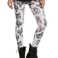 Kitten Head Leggings