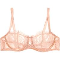 I.D. Sarrieri - Love Poems Chantilly lace balconette bra