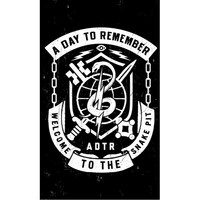 A Day To Remember: Snake Pit Flag