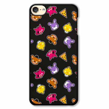 Fnaf Freddy S Faces Pattern Cute Kawaii Chibi iPod Touch 6 Case