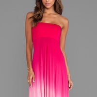 Young, Fabulous & Broke Bangal Maxi in Fuchsia