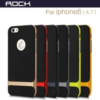 "For iphone 6 6s case 4.7"" & for iphone 6 6s plus 5.5 ROCK Royce PC +TPU ultra-thin Back Cover case"