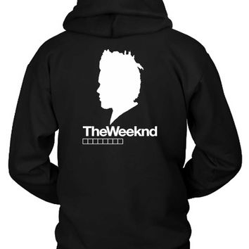 The Weeknd Siluet Two Hoodie Two Sided