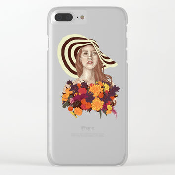 A flower between flowers // Del Rey with a bouquet Clear iPhone Case by Camila Quintana S