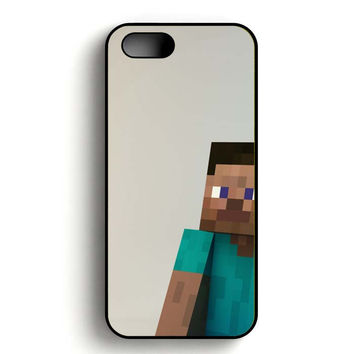Minecraft Man iPhone 5, iPhone 5s and iPhone 5S Gold case