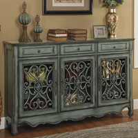 Coast to Coast Imports LLC 3 Drawer 3 Door Credenza