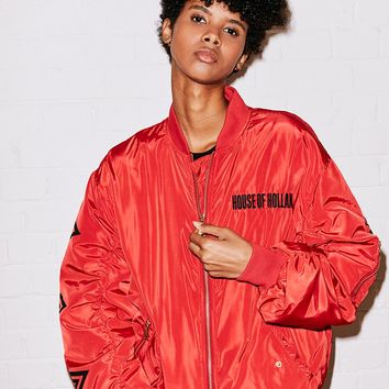 Red Bomber Jacket – House of Holland