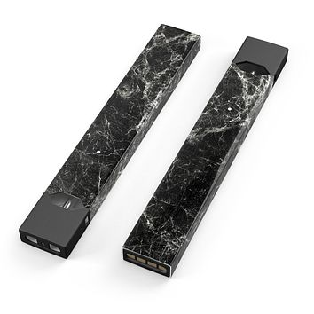 Skin Decal Kit for the Pax JUUL - Black Scratched Marble