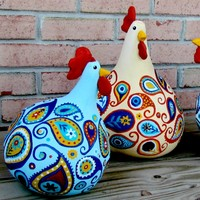 Feature Friday- Paisley Chickens!