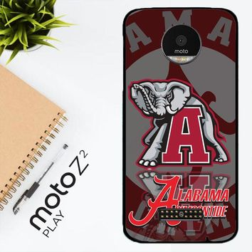 Alabama Crimson Tide X3309 Motorola Moto Z2 Play Case