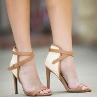 Strut Your Stuff Heels-Camel