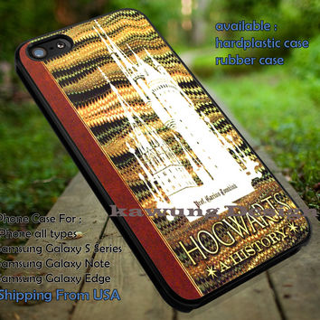 Harry Potter History Magic Book Lesson iPhone 6s 6 6s+ 5c 5s Cases Samsung Galaxy s5 s6 Edge+ NOTE 5 4 3 #movie #HarryPotter dt