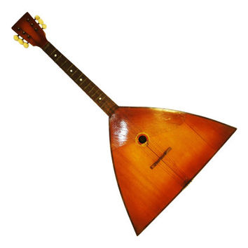 Classic, Original Russian 6 Strings Balalaika, Natural Wood, High Quality, 511