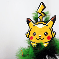 Pokémon Inspired Christmas Pikachu Tree Topper.