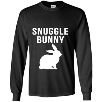 Snuggle Bunny Cute Cool Novelty Funny Rabbit Shirt