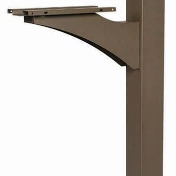 Gibraltar LP000BZ0 Landover Decorative Mailbox Cross Arm Universal Post, Bronze