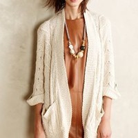 Bell Sleeve Cardigan by Sparrow Cream