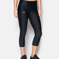 Women's UA Fly-By Printed Capris | Under Armour US