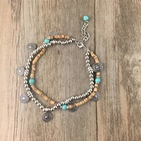 Boho / Hippie style Anklet