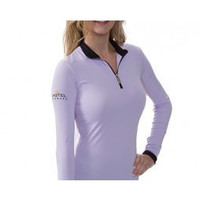 Kastel Denmark Sun shirt Purple with black Trim