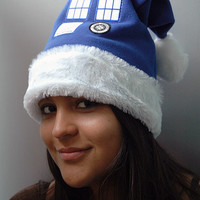 Inspired Doctor Who, Tardis Christmas Hat