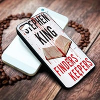 finders keepers stephen king Iphone 4 4s 5 5s 5c 6 6plus 7 case / cases