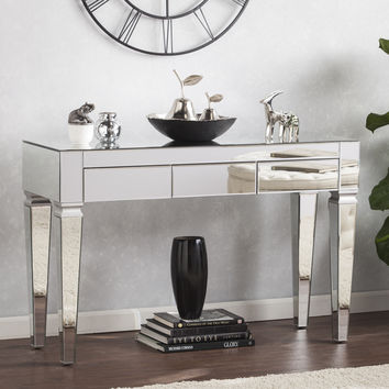 Harper Blvd Dakota Contemporary Mirrored Console Table