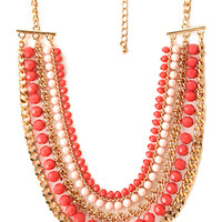 FOREVER 21 Polished Layered Necklace