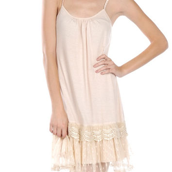RYU lace slip/dress extender